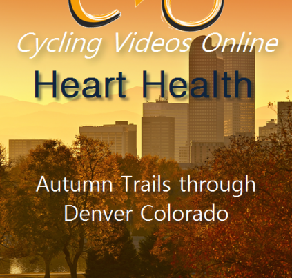 Heart Health: Autumn Trails Through Denver, Colorado Indoor Cycling Workout Video