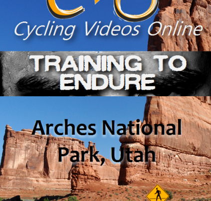 Training to Endure Arches National Park indoor cycling workout video
