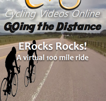 Going the Distance, ERock Rocks! A Virtual 100 Mile Ride
