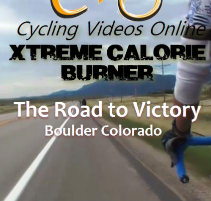 Xtreme Calorie Burner! The Road to Victory Boulder CO virtual ride