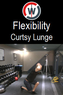 Dynamic Flexibility – Curtsy Lunges