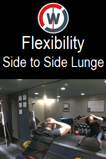 Dynamic Flexibility – Side to Side Lunges