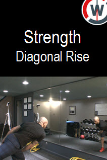 Strength  and Balance – Diagonal Rise