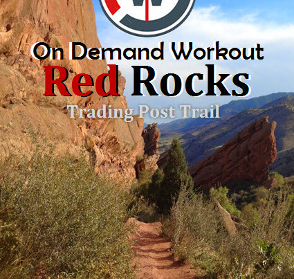 Red Rocks CO Virtual Hike Treadmill Workout