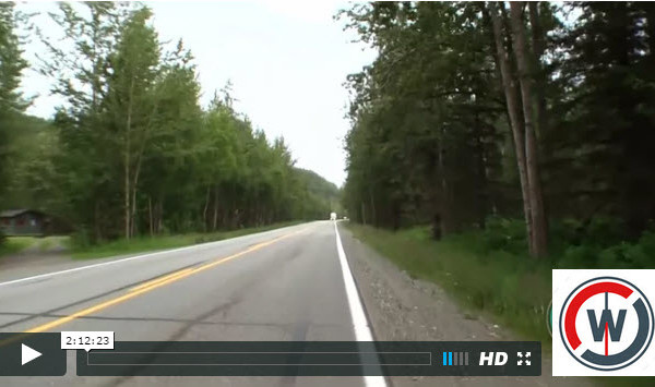 palmer to manituska alaska virtual cycling